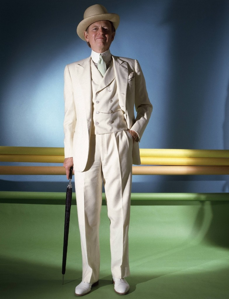 Tom Wolfe in 1984. Horst P. Horst/Conde Nast via Getty Images