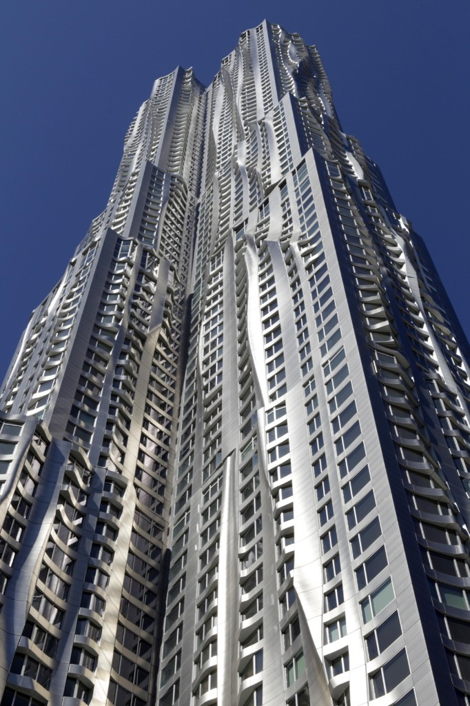 New York by Gehry, also known as 8 Spruce, a luxury rental apartment building near Wall Street. AP Photo/Seth Wenig