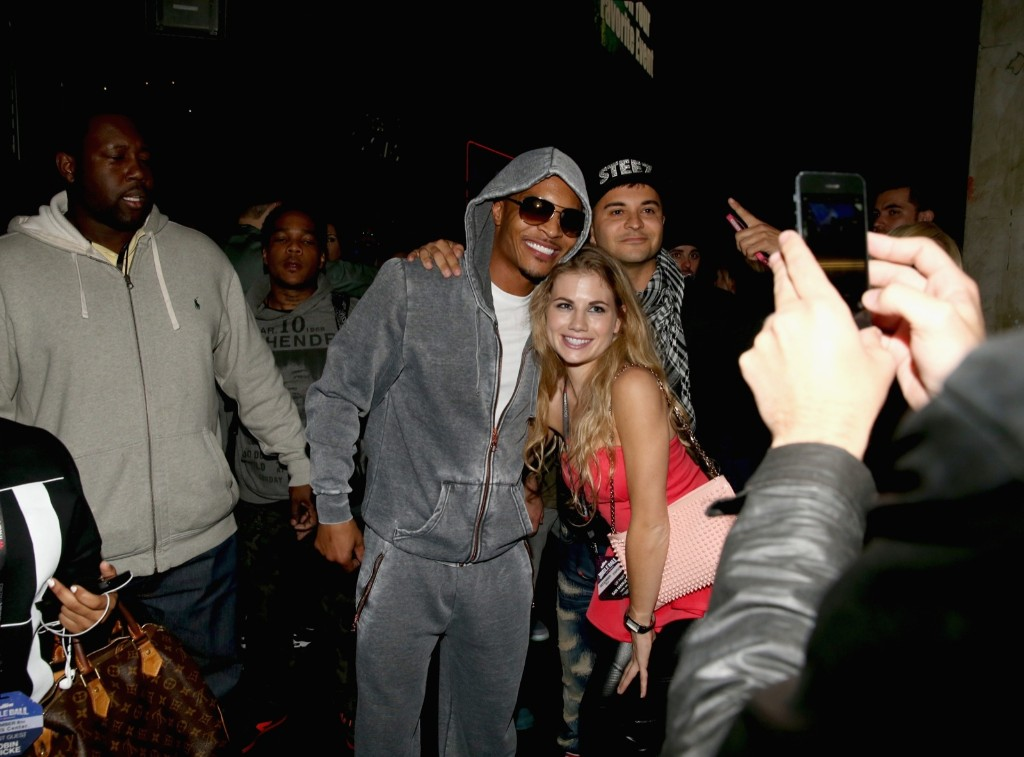 Rapper T.I. with fans during KIIS FM's Jingle Ball 2013 in Los Angeles. Christopher Polk/Getty Images for Clear Channel
