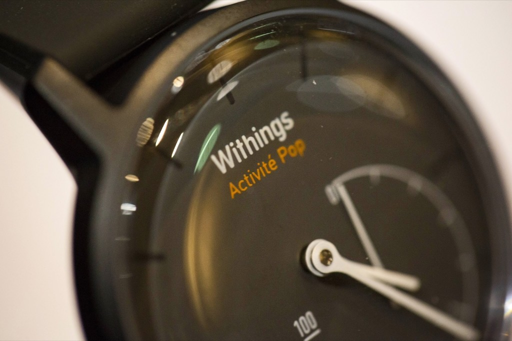 The Withings Activite Pop smart watch. Michael Nagle/Bloomberg