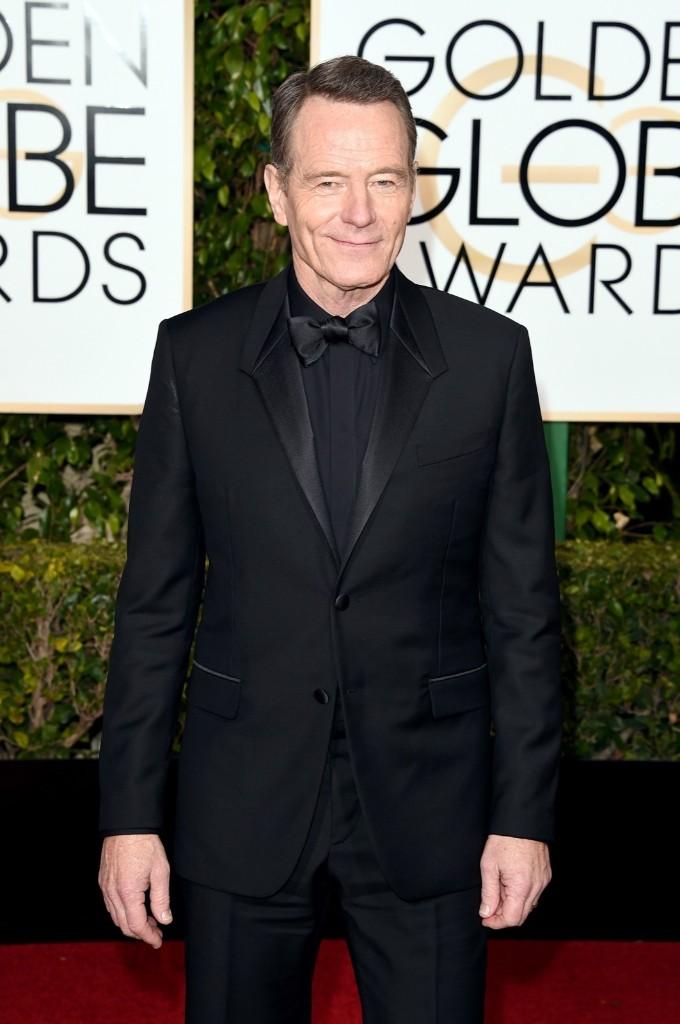 Bryan Cranston attends the 73rd Annual Golden Globe Awards. Jason Merritt/Getty Images