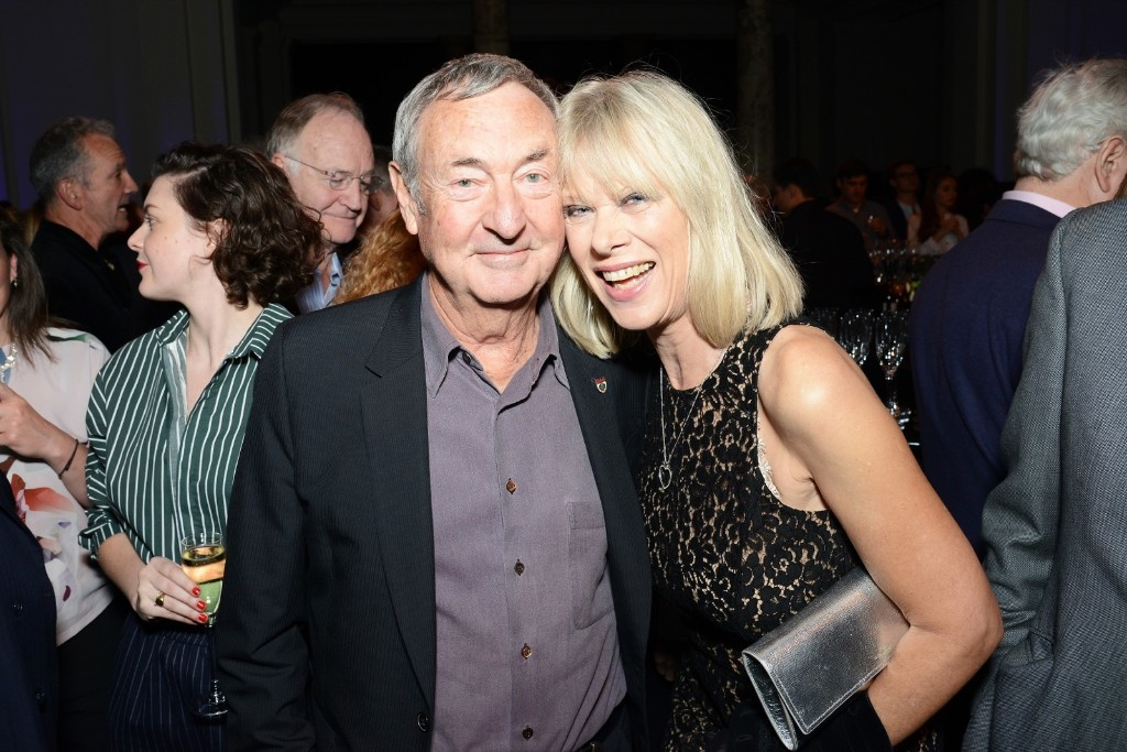 Annette and Nick Mason attend The Pink Floyd Exhibition: 'Their Mortal Remains' private view. Dave J Hogan/Getty Images