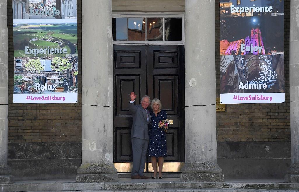 Prince Charles visits UK site of nerve agent attack