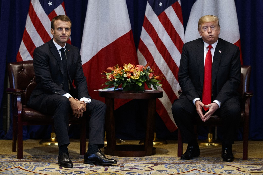 Trump and Macron: Realism replaces unlikely bromance