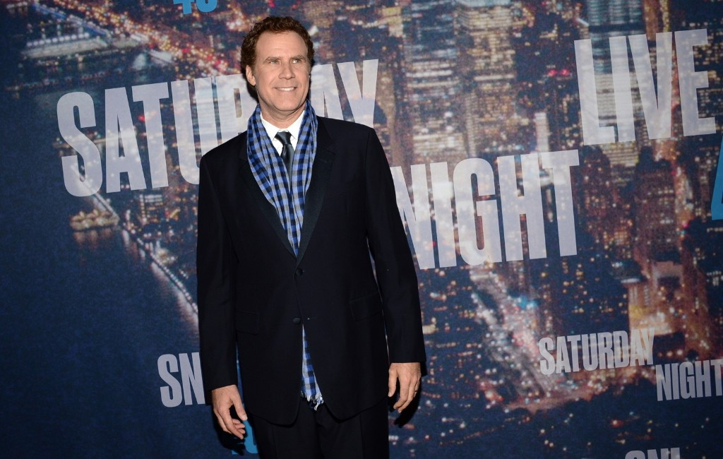 Will Ferrell arrives at the Saturday Night Live 40th Anniversary Special, Sunday, in New York. Evan Agostini/Invision/AP