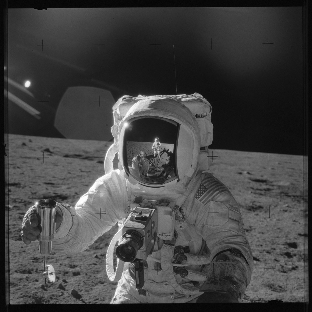 Apollo 12 Hasselblad image from film magazine 49/Z - EVA-2. NASA Photo