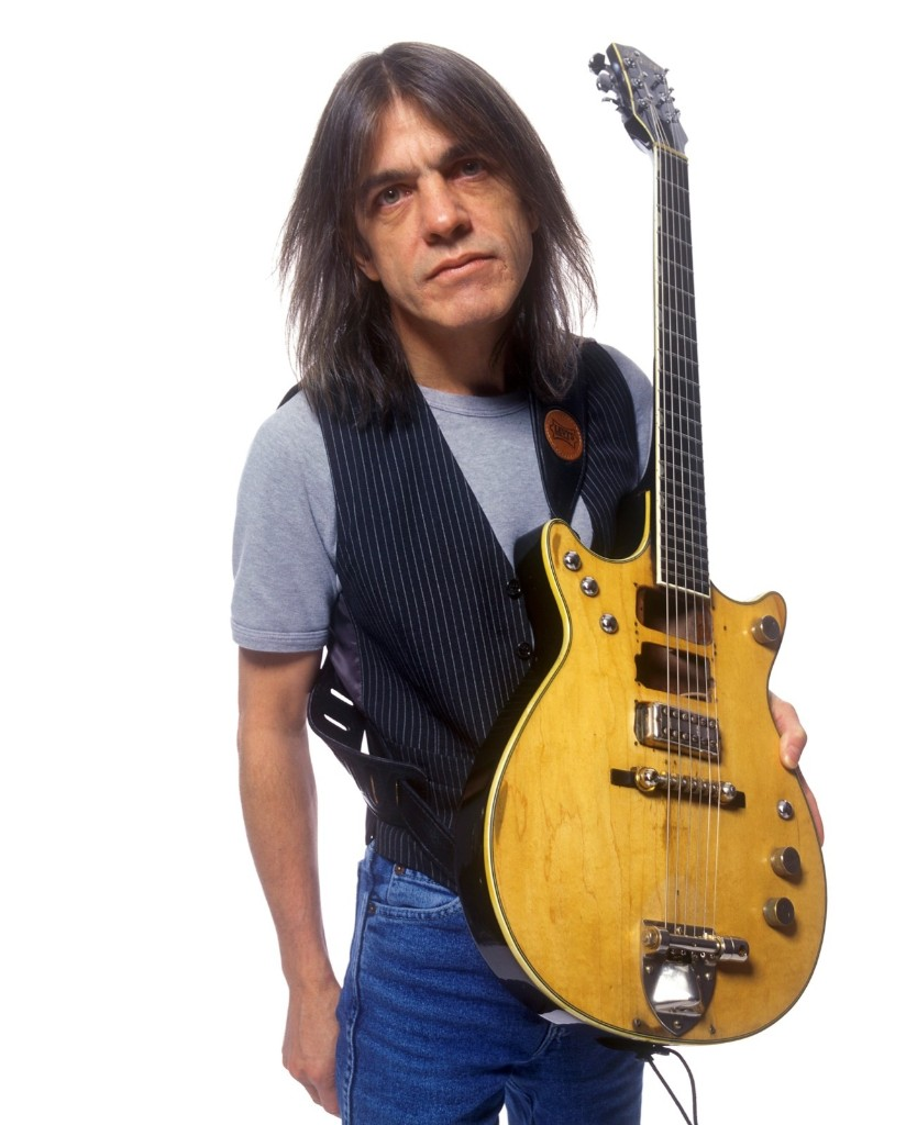 Malcolm Young of AC/DC in 2000. RTKleiman / MediaPunch/IPX
