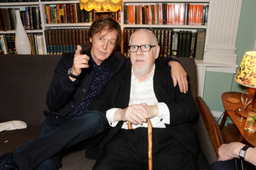 Sir Paul and Sir Peter Blake. David M. Benett/Getty Images for Eco-Age/Green Carpet Collection