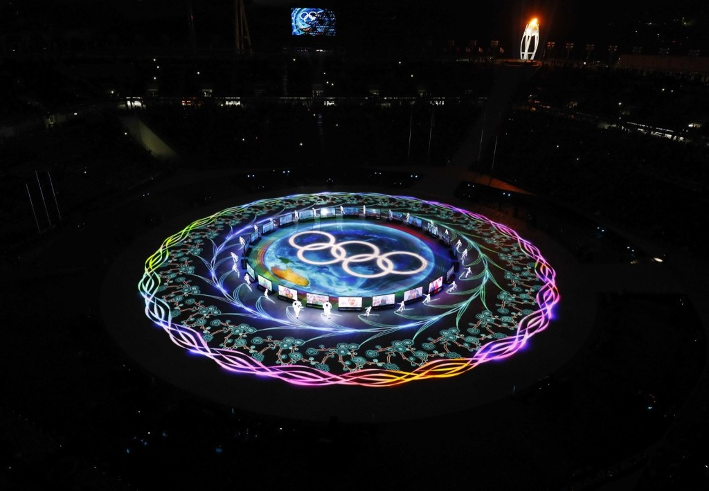 General view during the closing ceremony. REUTERS/Pawel Kopczynski