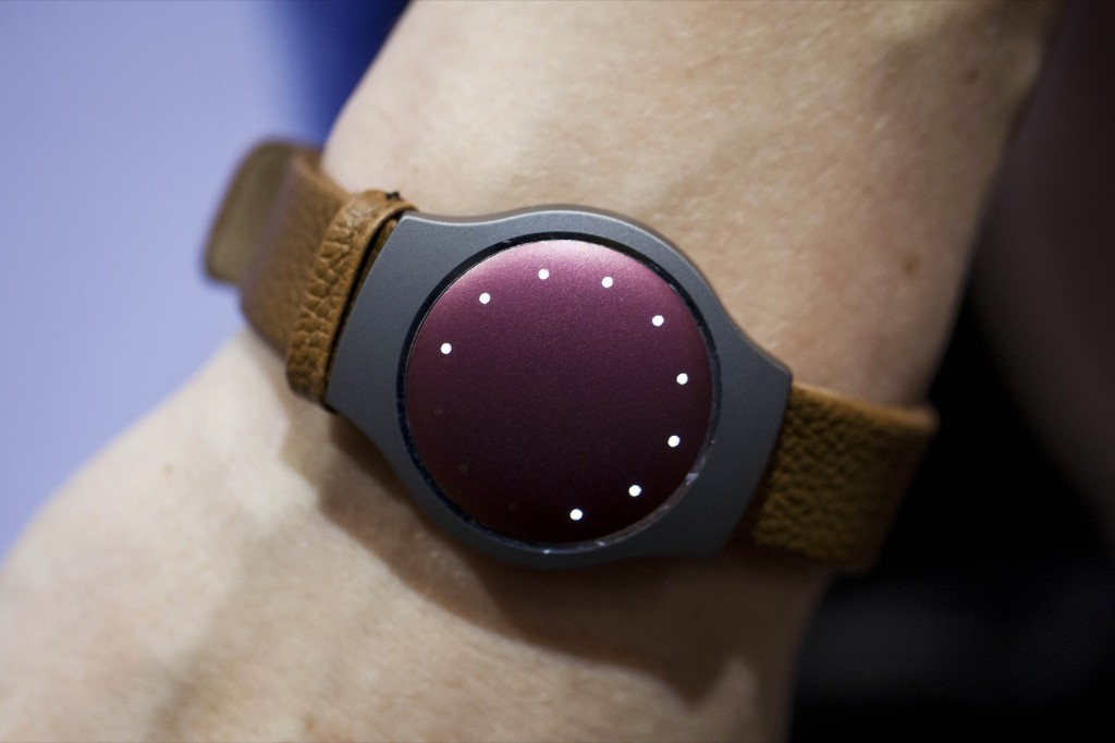 The Misfits activity tracker watch. Michael Nagle/Bloomberg