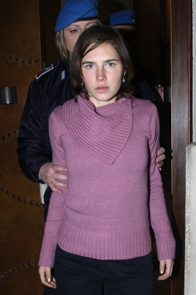 Amanda Knox during appeal of her murder conviction on Dec.18, 2010 in Perugia. Franco Origlia/Getty Images