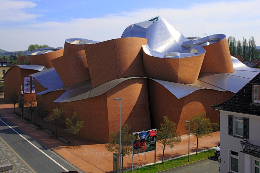 MARTa Herford, an art museum in North Rhine-Westphalia, Germany was designed by architect Frank Gehry. Werner OTTO/ullstein bild via Getty Images