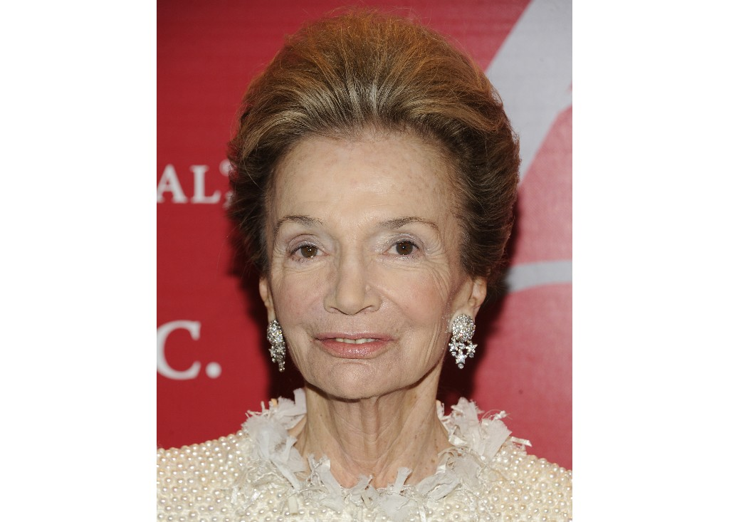 "FILE - In this Thursday, Oct. 27, 2011 file photo, socialite Lee Radziwill attends the Fashion Group International's 28th Annual Night of Stars ""The Luminaries"" at Cipriani Wall Street in New York. Radziwill, the stylish jet setter and socialite who made friends worldwide even as she bonded and competed with her older sister Jacqueline Kennedy, has died. She was 85. Anna Christina Radziwill told The New York Times her mother died Friday, Feb. 15, 2019, of what she described as natural causes. (AP Photo/Evan Agostini, File)"