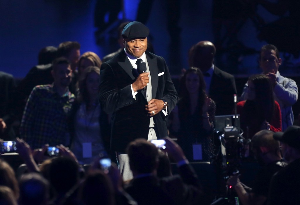 Host LL Cool J performs onstage during The GRAMMY Nominations Concert Live!! Countdown To Music's Biggest Night. Frederick M. Brown/Getty Images