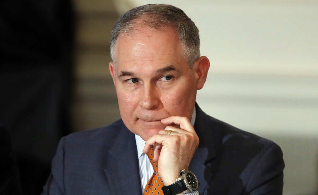 House panel seeks info on EPA chief's first-class flights