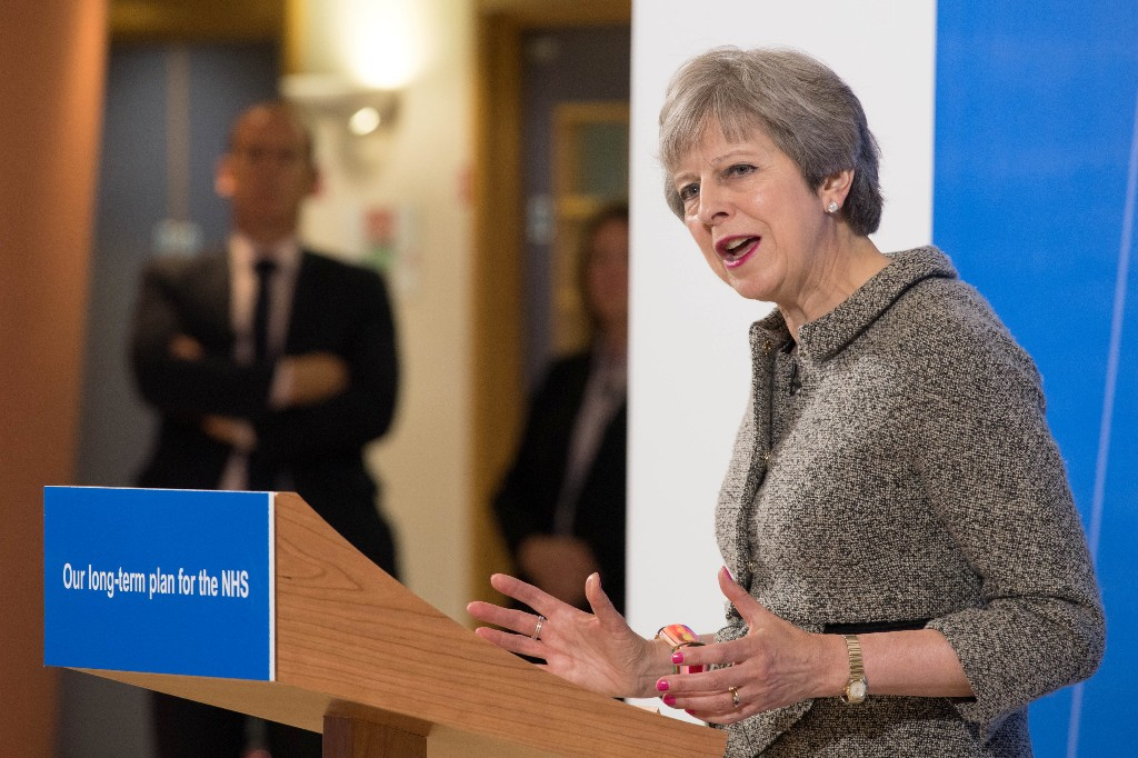 Brexit will give Britain more to spend on health even as payments to EU continue: PM May