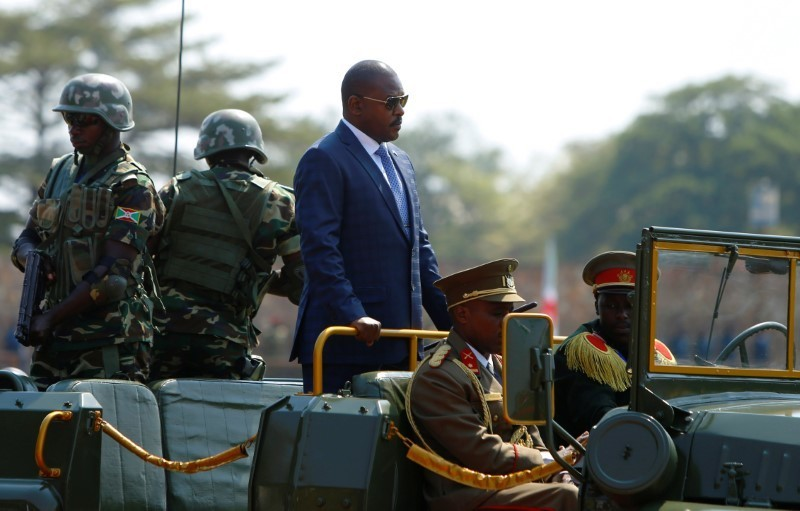 Burundi replaces foreign minister with ex-head of ruling party youth wing