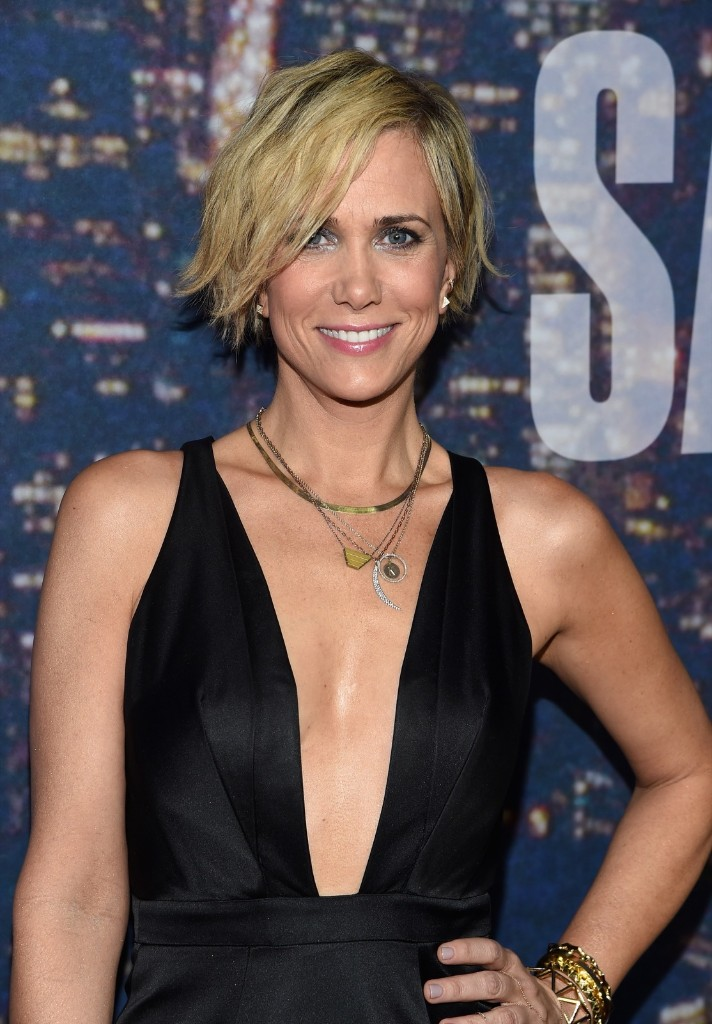 Actress Kristen Wiig attends the SNL 40th Anniversary Special, Sunday, in New York. Larry Busacca/Getty Images