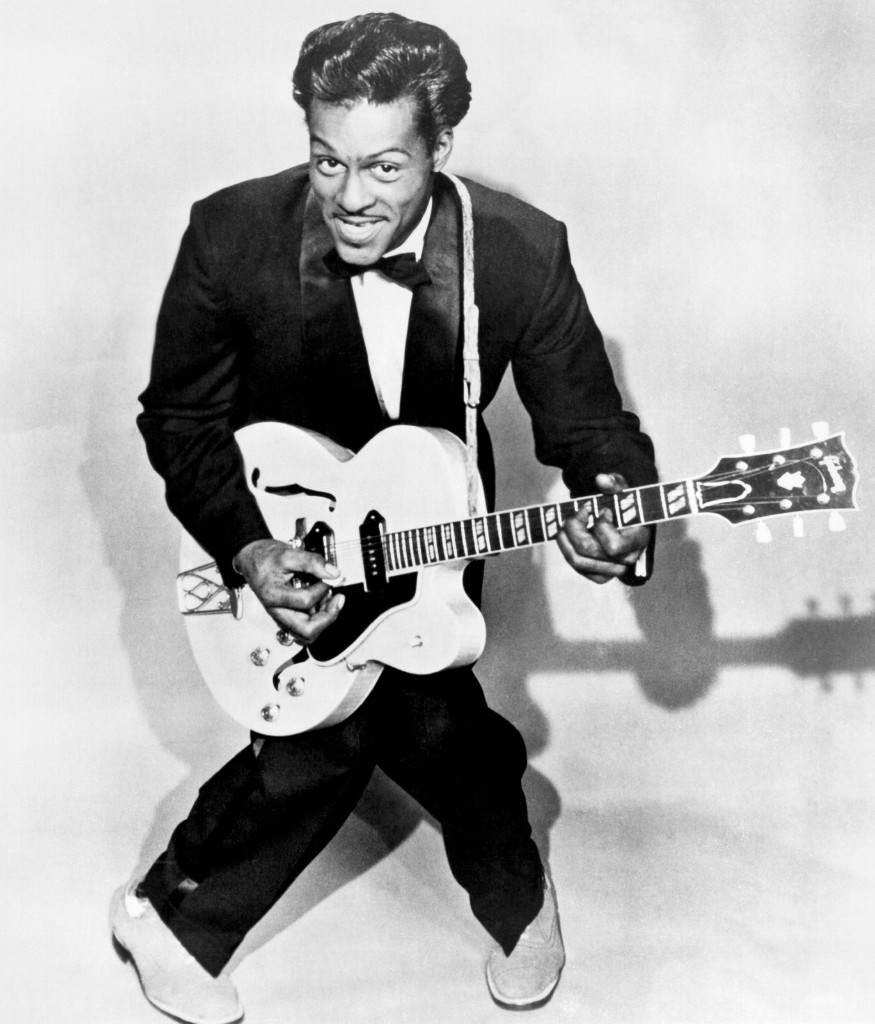 Chuck Berry, circa 1958. Michael Ochs Archives/Getty Images
