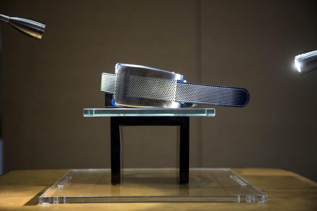 The Emiota smart belt. Michael Nagle/Bloomberg/Getty Images