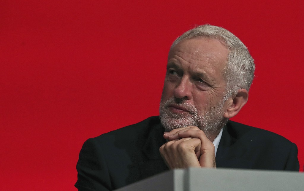 UK's Labour opposition says it will reject May's Brexit deal