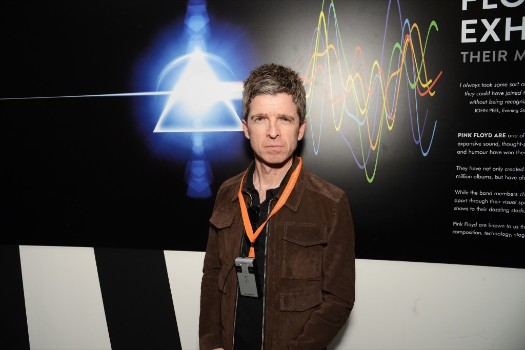 Noel Gallagher attends The Pink Floyd Exhibition: 'Their Mortal Remains' private view. Dave J Hogan/Getty Images