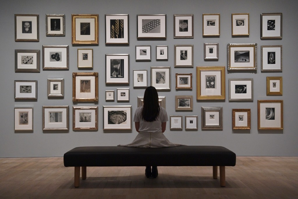 Photographs belonging to Elton John during a press preview for 'The Radical Eye: Modernist Photography from The Sir Elton John Collection' at the Tate Modern in London. Carl Court/Getty Images