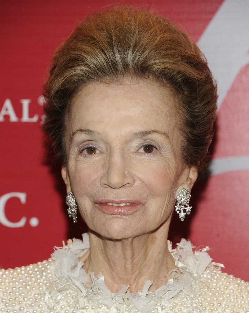 "FILE - In this Thursday, Oct. 27, 2011 file photo, socialite Lee Radziwill attends the Fashion Group International's 28th Annual Night of Stars ""The Luminaries"" at Cipriani Wall Street in New York.Radziwill, the stylish jet setter and socialite who made friends worldwide even as she bonded and competed with her older sister Jacqueline Kennedy, has died. She was 85. Anna Christina Radziwill told The New York Times her mother died Friday, Feb. 15, 2019, of what she described as natural causes. (AP Photo/Evan Agostini, File)"