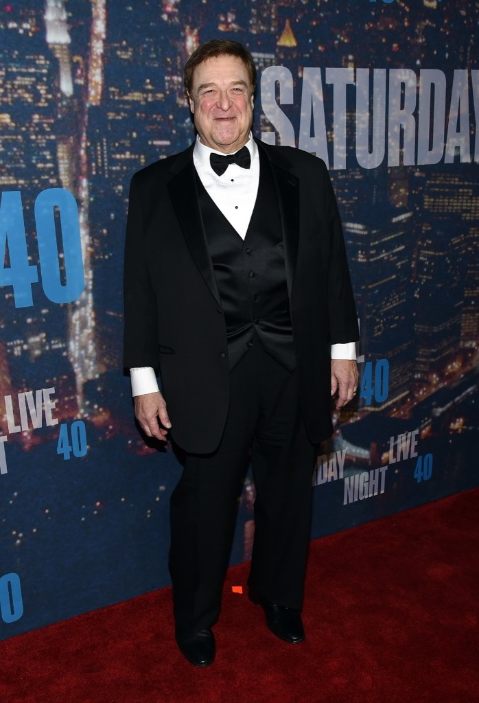 John Goodman attends the SNL 40th Anniversary Special, Sunday, in New York. Larry Busacca/Getty Images