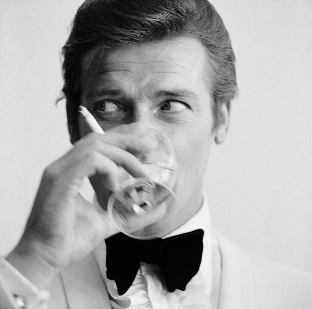 Roger Moore in 1968. Peter Ruck/BIPs/Getty Images