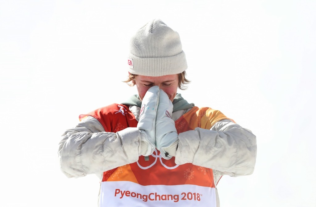 Red Gerard of the U.S. celebrates after winning gold in slopestyle. Ian MacNicol/Getty Images