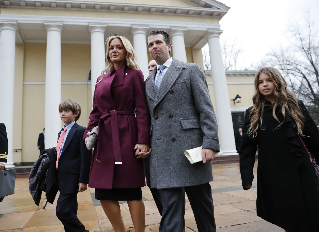 Donald Trump Jr. and wife: Going separate ways