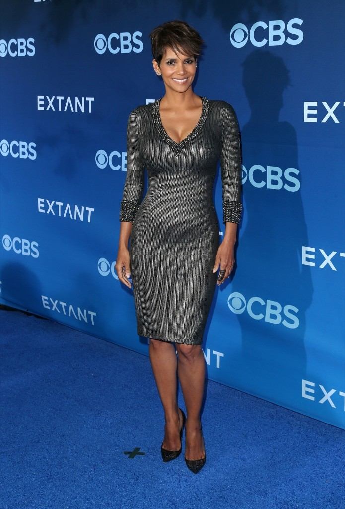 Halle Berry attends the premiere of 'Extant' at the California Science Center. Frederick M. Brown/Getty Images