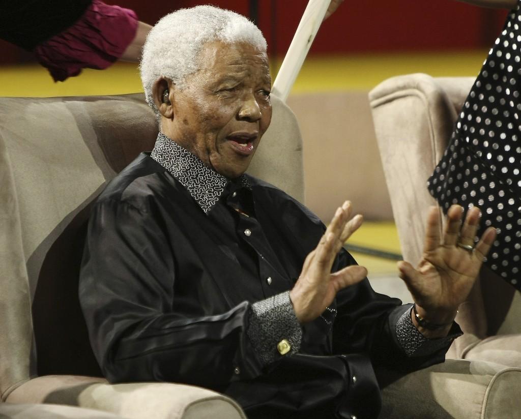 As Trump arrives at UN, world leaders honor Mandela