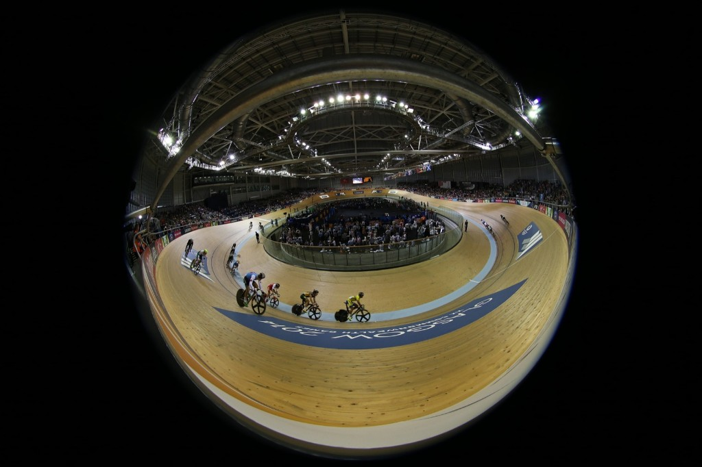 The mens 20km scratch race during the Commonwealth Games. AP Photo/ Scott Heppell