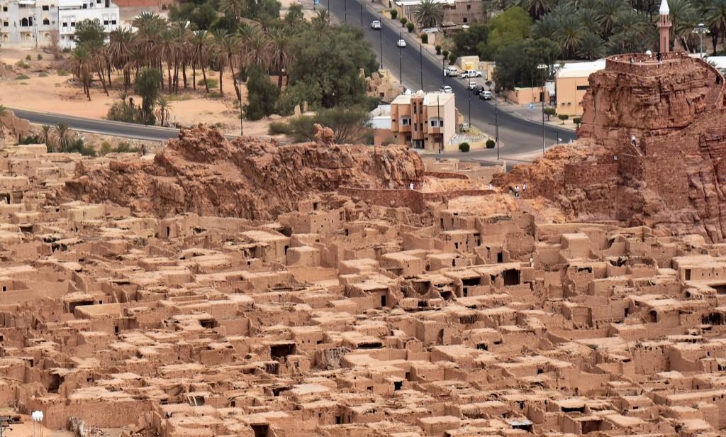 The old historical town of al-Ula in northwestern Saudi Arabia. FAYEZ NURELDINE/AFP/Getty Images)