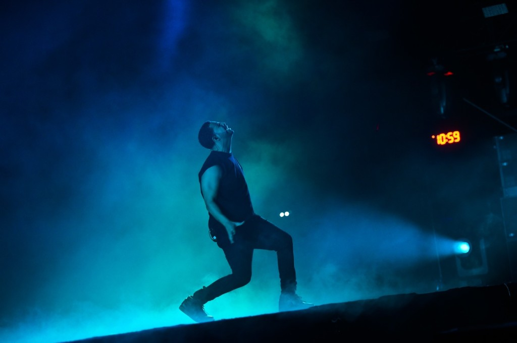 Drake, the headliner on Sunday. Scott Roth/Invision/AP