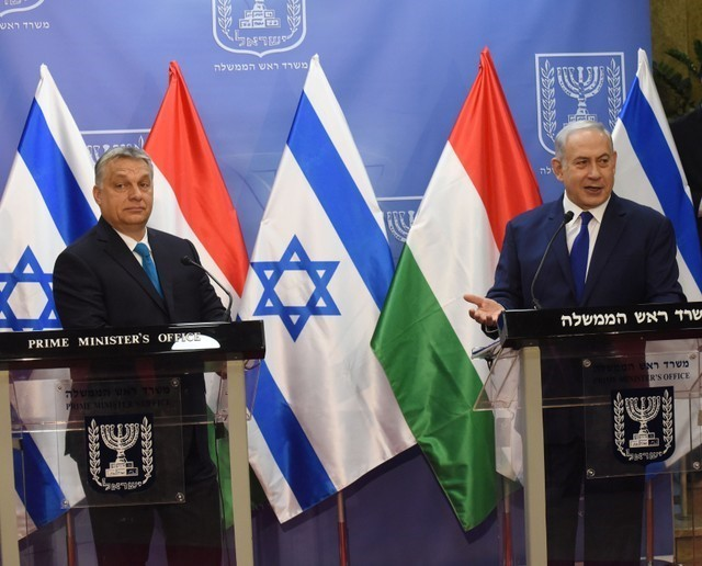 Hungary's Orban tells Israel that Jews in his country can feel safe