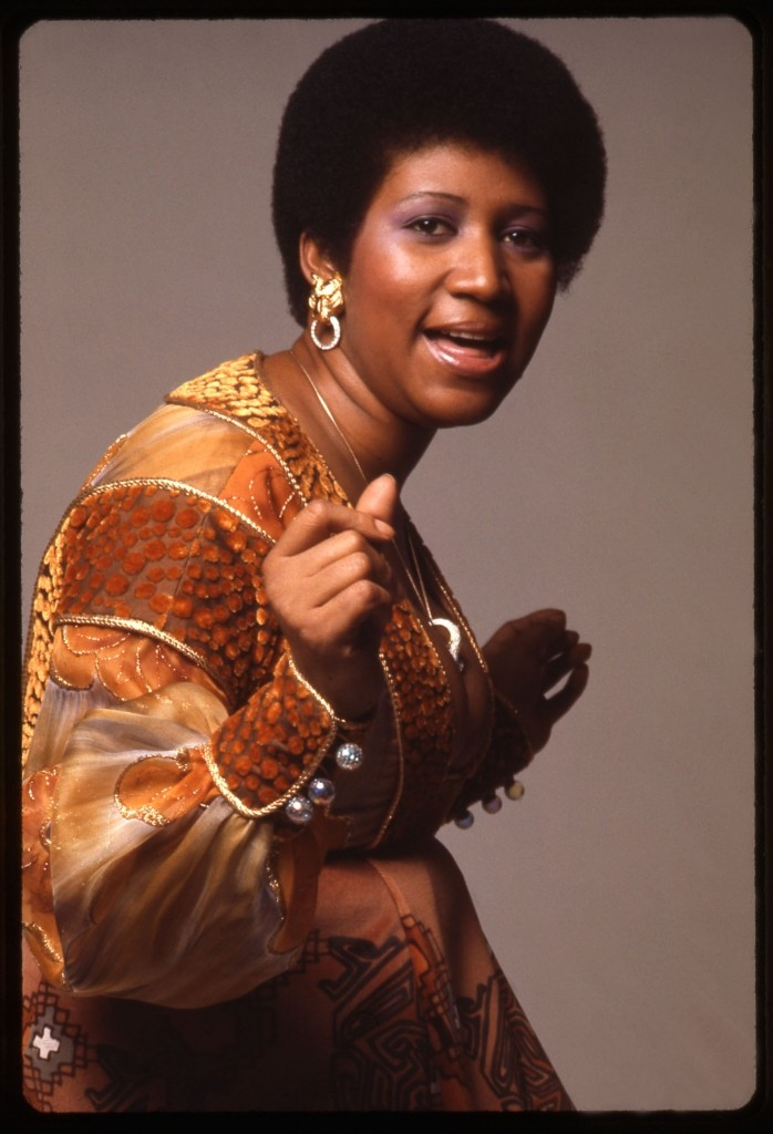 Aretha Franklin in 1971. Anthony Barboza/Getty Images