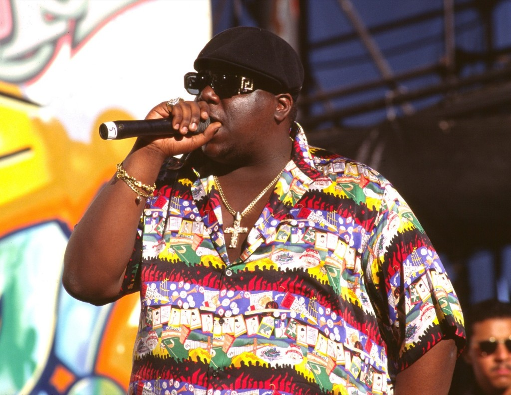 Notorious B.I.G., 1995 (Photo by Chris Walter/WireImage)