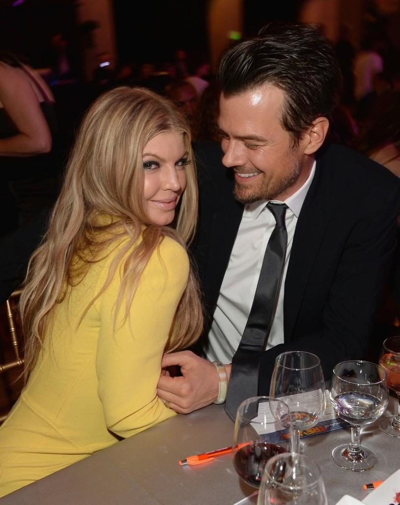 "Fergie and Josh Duhamel attend ""TrevorLIVE LA"" at the Hollywood Palladium on Sunday. Jason Merritt/Getty Images for Trevor Project"