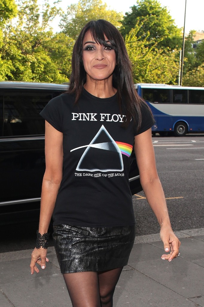 Jackie St Clair attends Pink Floyd: 'Their Mortal Remains' private view. Ricky Vigil M/GC Images