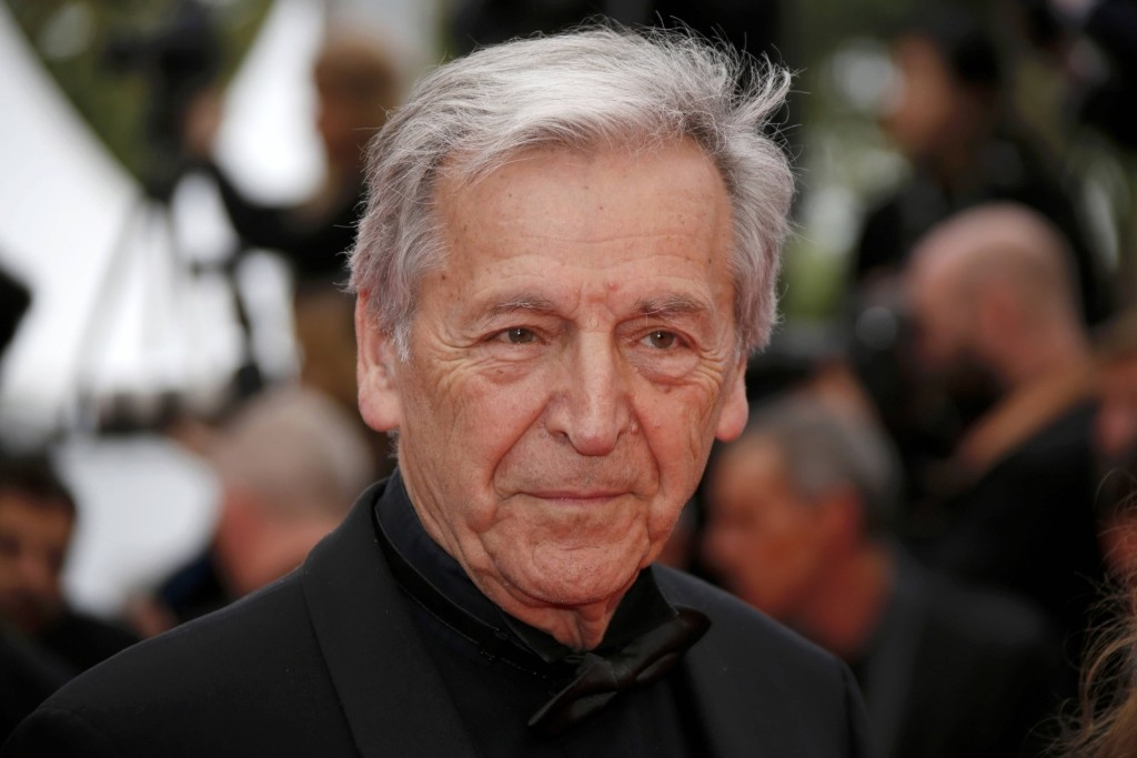 Director Costa Gavras on the red carpet. REUTERS/Jean-Paul Pelissier