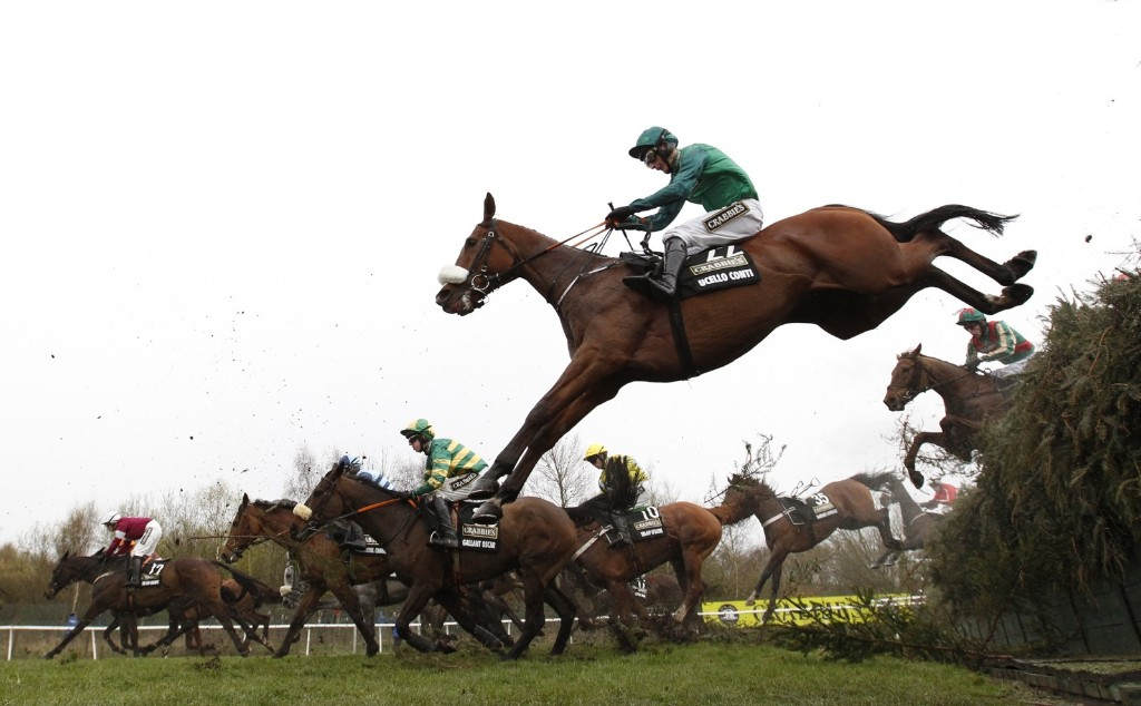 Ucello Conti ridden by D A Jacob during the 5.15 Crabbie's Grand National Chase at Aintree Racecourse. Andrew Boyers/Action Images via Reuters