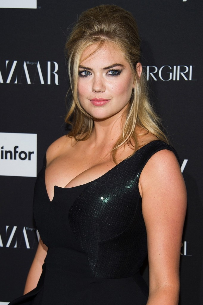 Kate Upton attends the Harper's BAZAAR ICONS event. Charles Sykes/Invision/AP