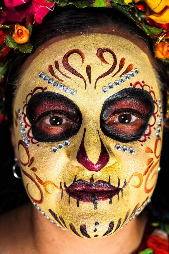 Mexicans get ready to celebrate the Day of the Dead. OMAR TORRES/AFP/Getty Images