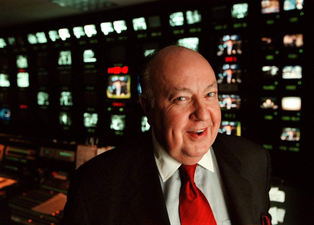 Roger Ailes, president of Fox TV, 1999. Helayne Seidman/FTWP