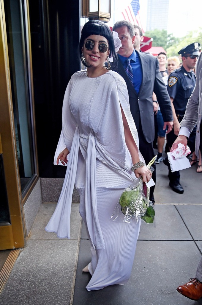Lady Gaga in New York. NCP/Star Max/GC Images