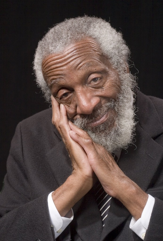 Comedian and political activist Dick Gregory, 2006. Mickey Adair/Getty Images