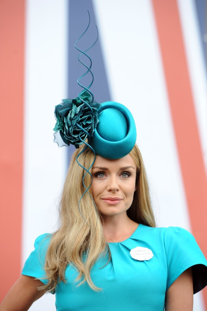 Katherine Jenkins attends day 3 of Royal Ascot. Stuart C. Wilson/Getty Images